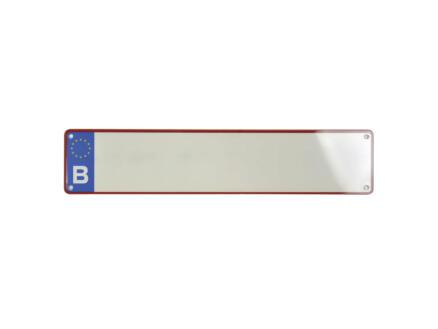 Carpoint Belgische nummerplaat blanco