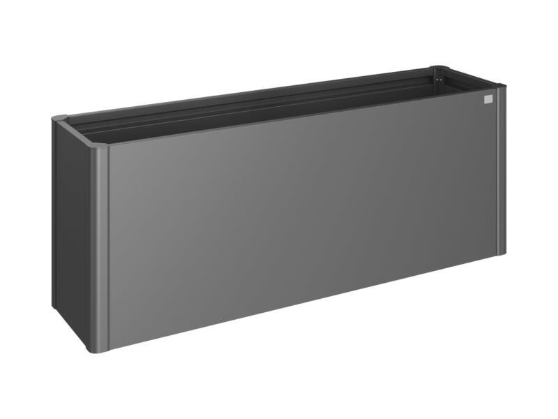 Biohort Belvedere moestuinbak 53x201 cm donkergrijs metallic