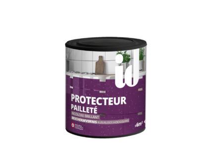 Beschermvernis glittereffect hoogglans 0,45l kleurloos