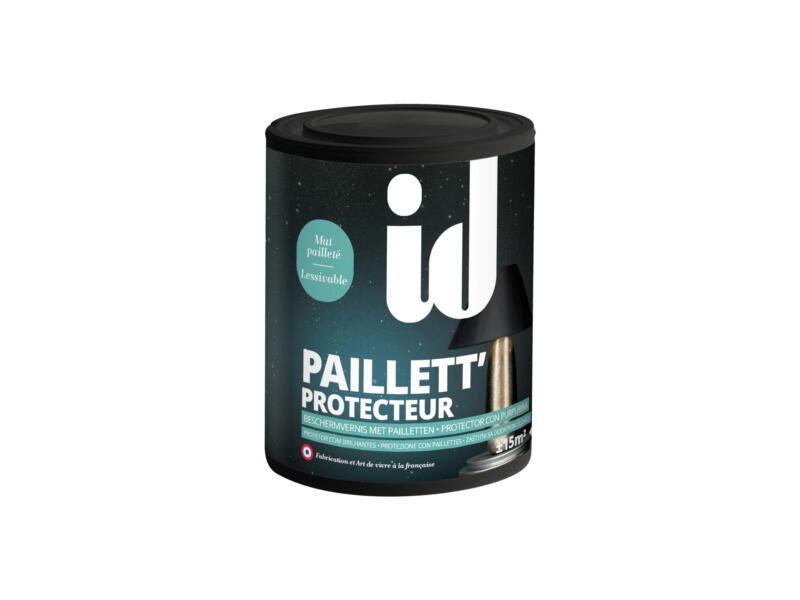Beschermvernis paillet mat 0,75l kleurloos