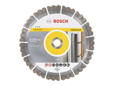 Bosch Professional Best for Universal disque à tronçonner diamanté universel 230x2,4x22,23 mm
