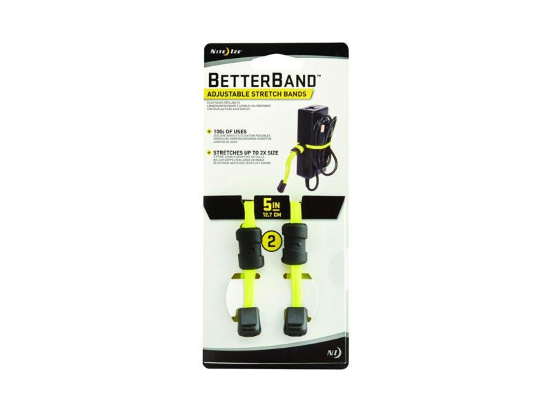 BetterBand lien élastique 12,7cm jaune 2 pièces