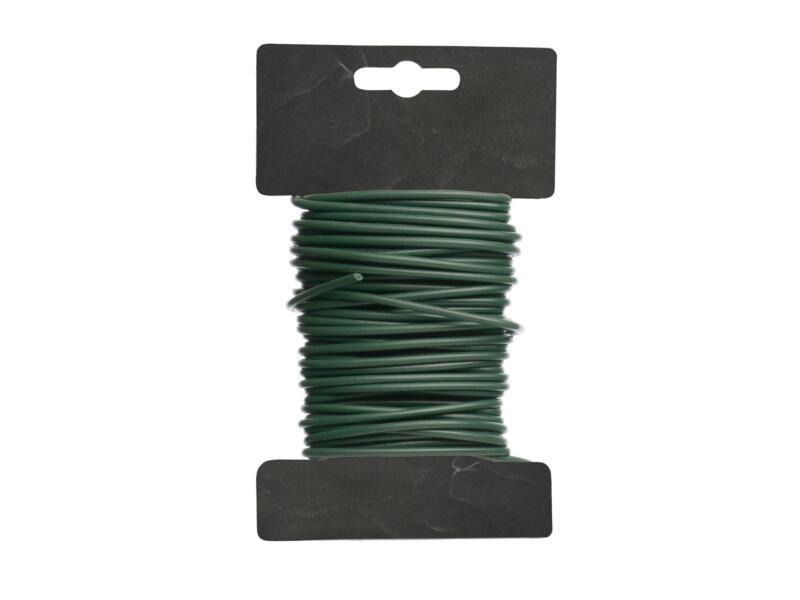 Binddraad met antislipcoating 10m 3mm groen