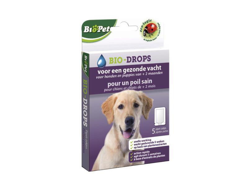 Bio-Drops antiparasites pour chiens
