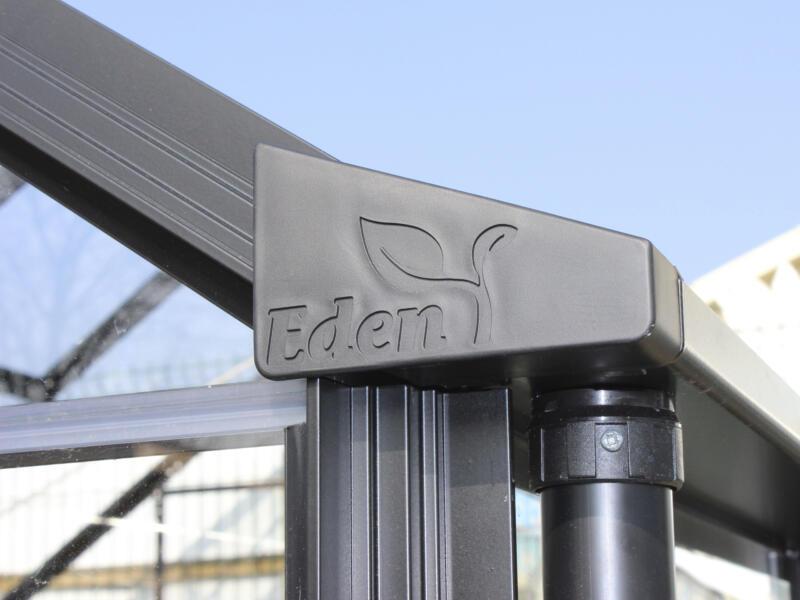 Eden Birdlip 64 serre veiligheidsglas zwart