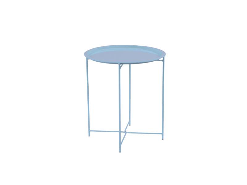 Garden Plus Biri table d'appoint 46cm bleu clair