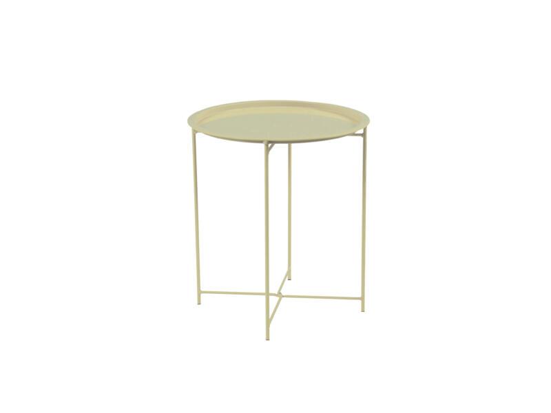 Garden Plus Biri table d'appoint 46cm taupe