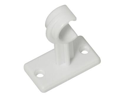 Bistro Aura support long pour tringle à rideau 27x36 mm blanc 2 pièces