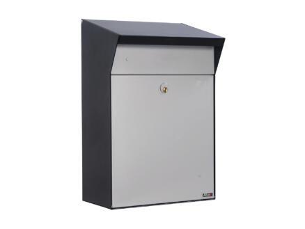 Allux Bjorn SA brievenbus staal grijs