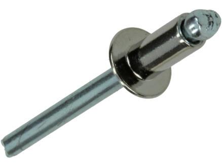 Rapid Blindniet 4,8x10 mm roestvrij staal 50 stuks
