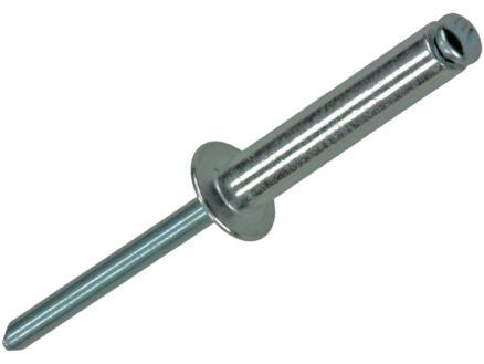 Rapid Blindniet 4,8x25 mm aluminium 50 stuks