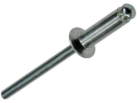 Mack Blindniet 4x14 mm aluminium 26 stuks