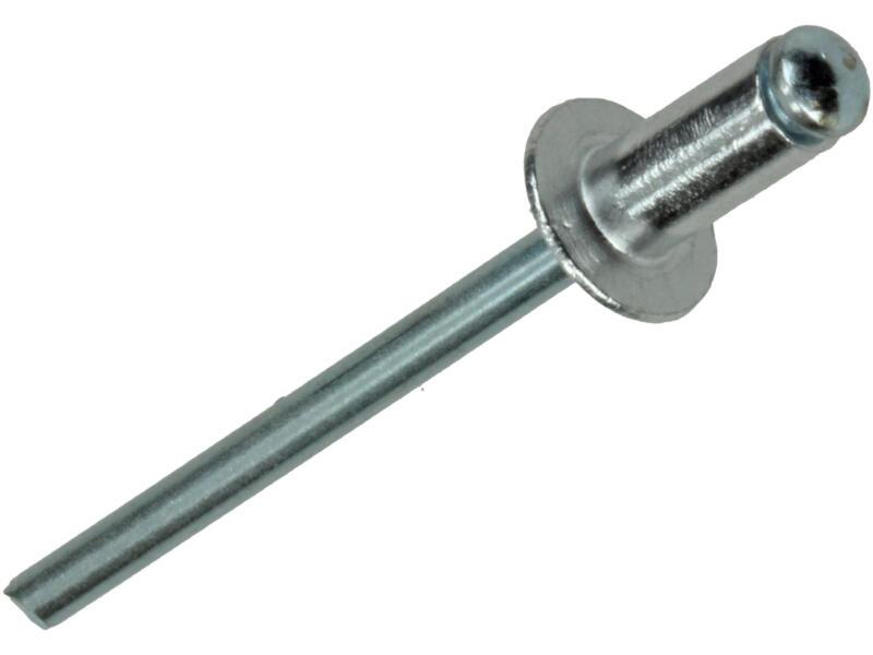 Rapid Blindniet 4x8 mm aluminium 100 stuks
