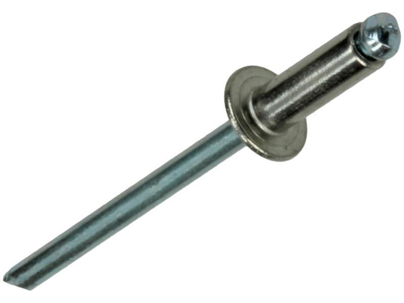Rapid Blindniet roestvrij staal 4x12 mm 50 stuks