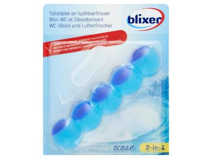 Blixer bloc WC et désodorisant 2-in-1 océan 35g