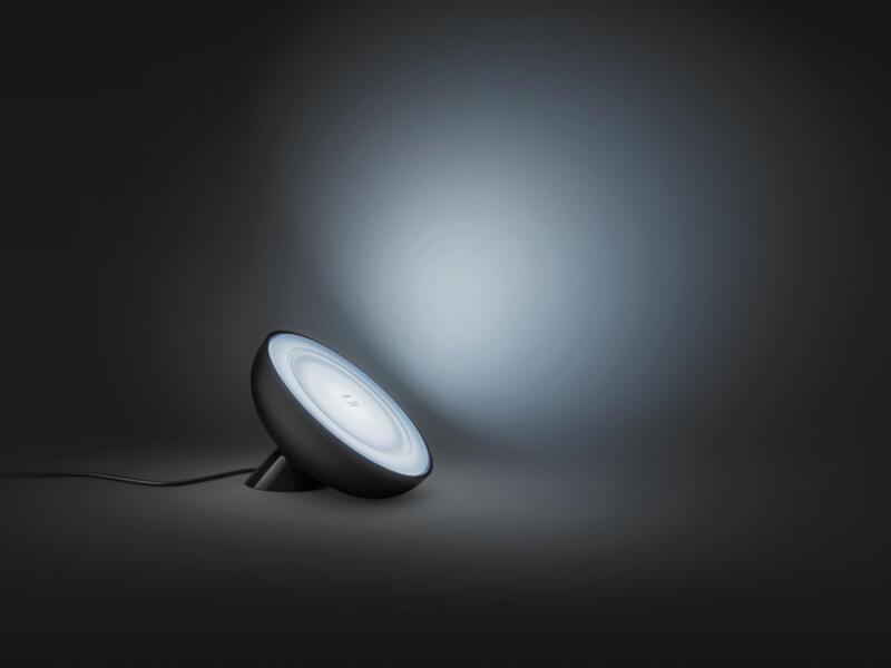 Philips Hue Bloom LED tafellamp 7,1W dimbaar RGB zwart