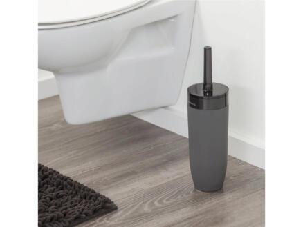 Sealskin Bloom WC-borstel met houder vrijstaand grijs