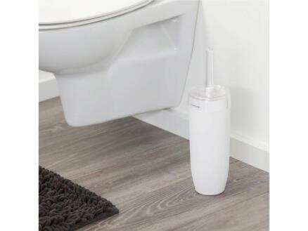 Sealskin Bloom brosse WC avec support à poser blanc