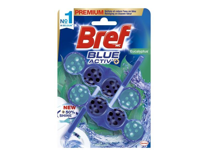 Bref Blue Activ' blocs WC eucalyptus 2 pièces