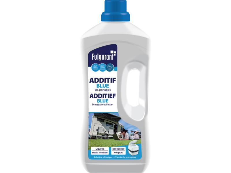 Blue additif liquide pour toilette chimique 1,5l