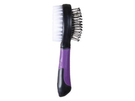 Blueline brosse double-face poils doux et picots