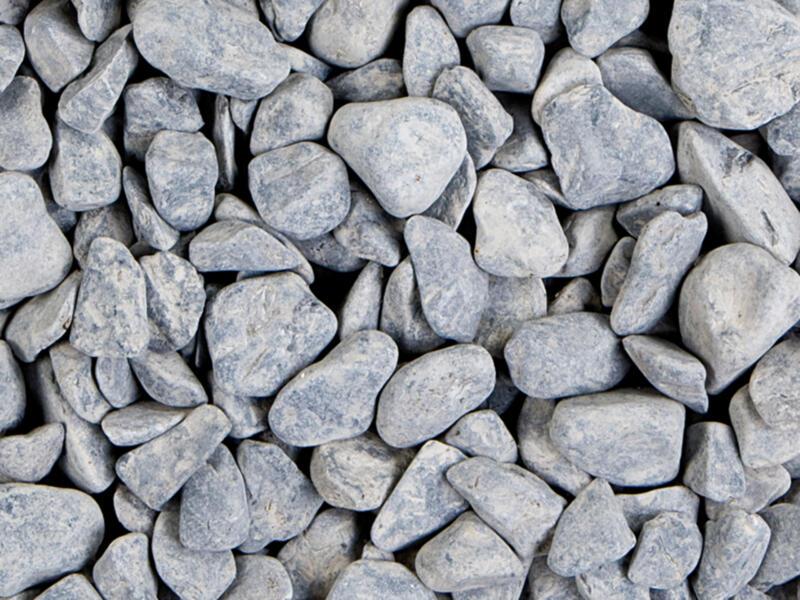 Bluestone Pebbles gravier 20-40 mm 20kg gris-bleu