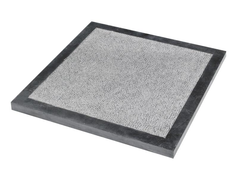 Bluestone dalle de terrasse 30x30x2,5 cm 0,09m² bouchardé avec bordure pierre bleue