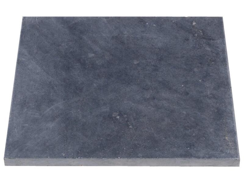 Bluestone dalle de terrasse 50x50x2,5 cm 0,25m² scié pierre bleue