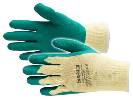 Busters Boa Clip werkhandschoenen M latex groen
