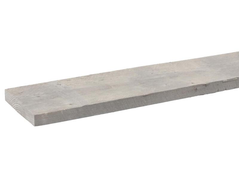 CanDo Bois d'échafaudage 3x19,5x250 cm grisonnant