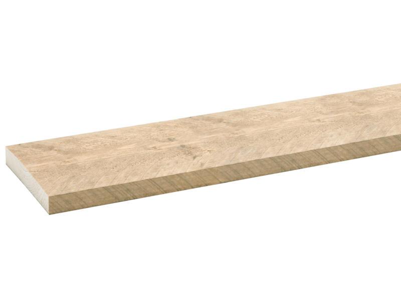 CanDo Bois d'échafaudage 3x19,5x250 cm vieilli