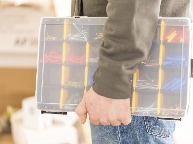 Stanley Boîte à compartiments 27,2x18,9x4,6 cm 17 compartiments