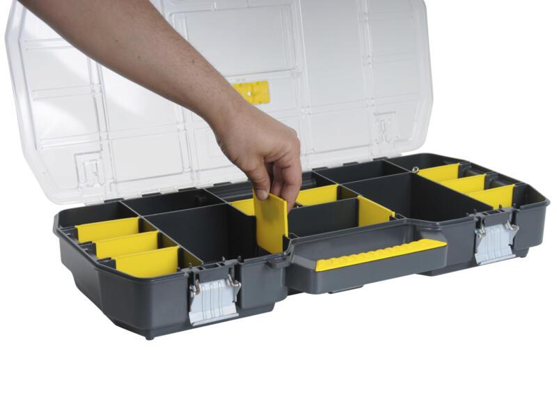 Stanley Boîte à outils 67x32,3x25,1 cm + bac à compartiments
