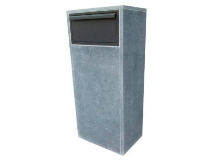VASP Bologna brievenbus belgische blauwe steen