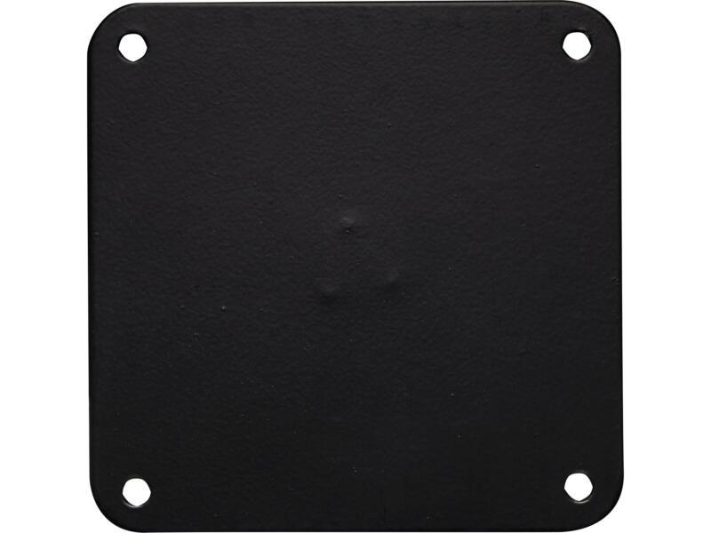 Bonita meubelpoot rond 76mm 72cm zwart