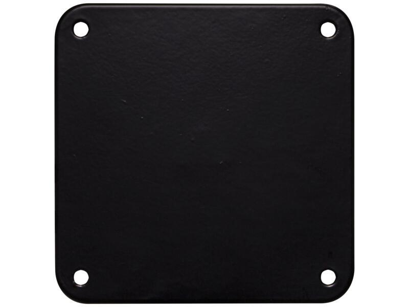 Bonita meubelpoot rond 76mm 90cm metaal zwart