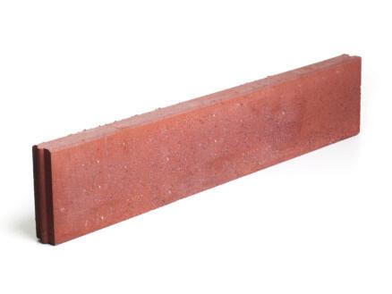 Boordsteen 100x20x6 cm rood
