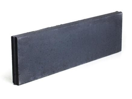 Boordsteen 100x30x6 cm zwart