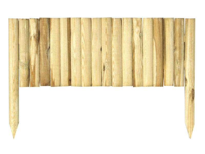 Borderhekje 90x35 cm bruin