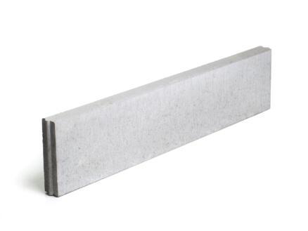 Bordure 100x20x6 cm gris
