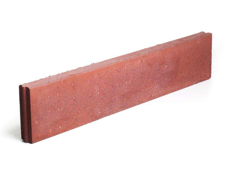 Bordure 100x20x6 cm rouge