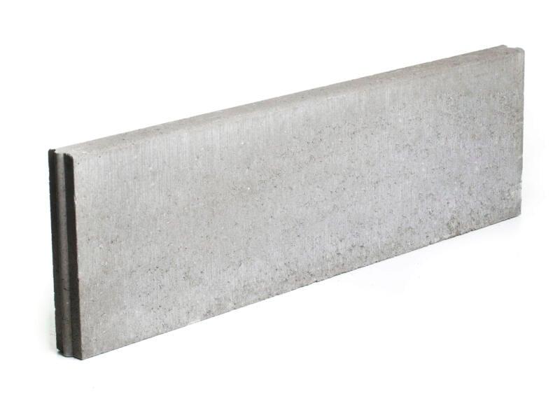 Bordure 100x30x6 cm gris