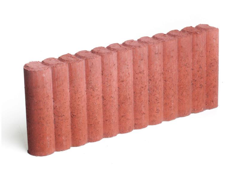 Bordure 50x20x6 cm rouge