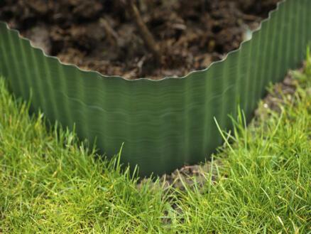 Bordure à gazon flexible 15cm 9m vert