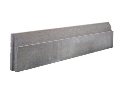 Bordure fine 100x30x6 cm gris