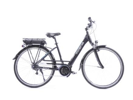 Minerva Bosch Alivio 9 elektrische damesfiets middenmotor zwart