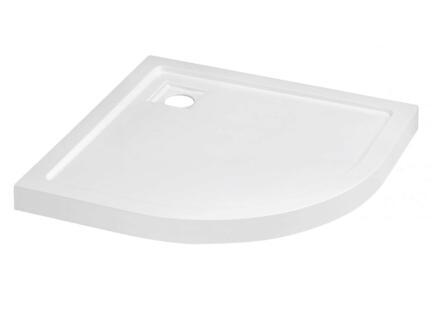 Tiger Boston Basic receveur de douche 100x100x4,3 cm quart de rond