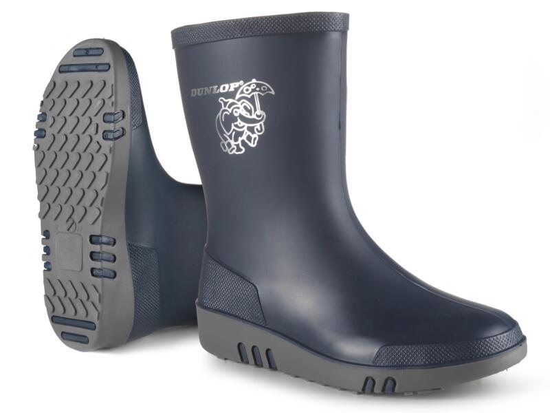 Dunlop Bottes enf mini bl-gr uni, 20