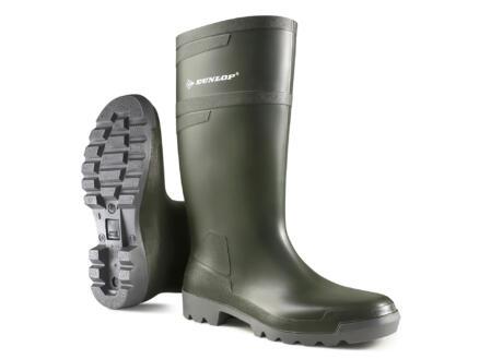 Dunlop Bottes Hobby Retail vert 44