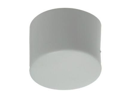 Sam Bouchon de tube 25mm blanc 4 pièces